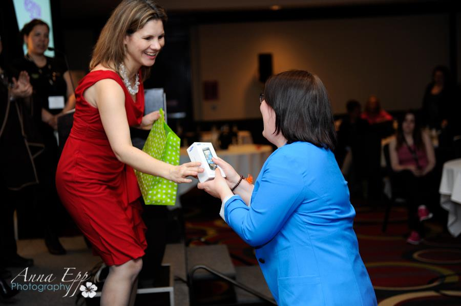 winning a windows phone at WIBN conference thanks to microsoft and telus http://www.goforitevent.com