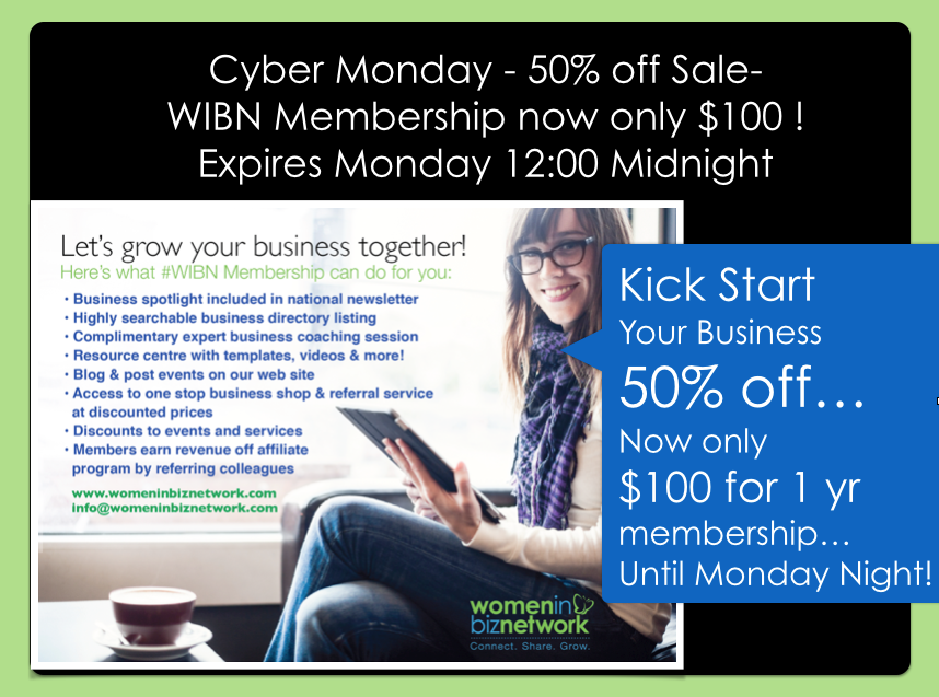 Cyber Monday Sale – Grow Your Biz Today!
